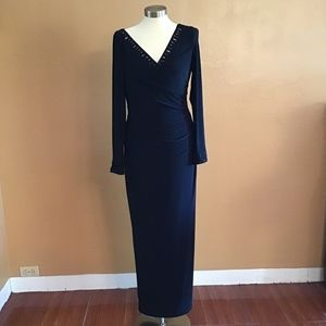 Lauren Ralph long evening prom gown dress size 8